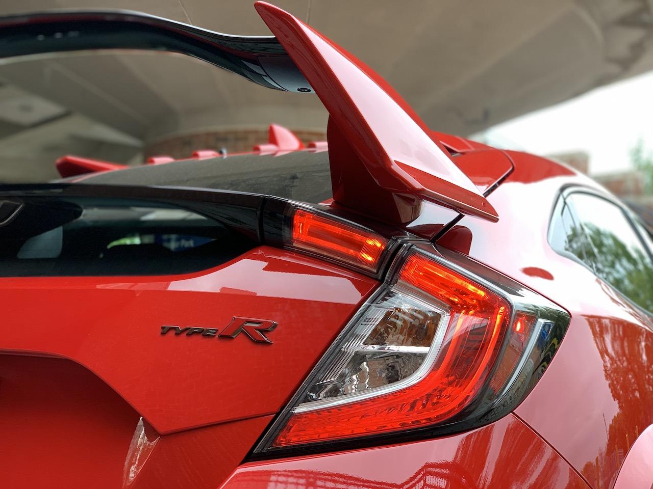 2020 Honda Civic Type-R red