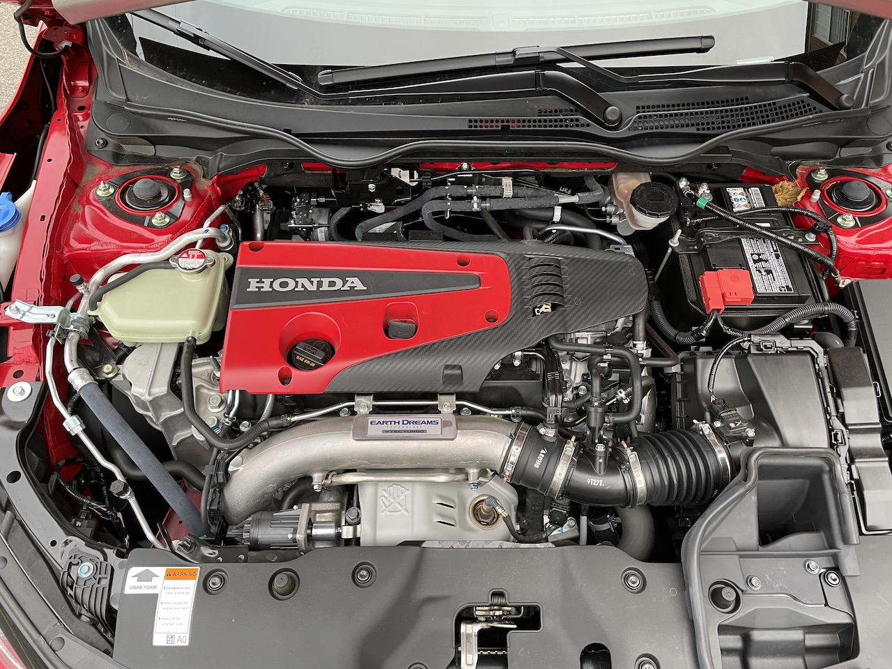 2020 Honda Civic Type-R engine