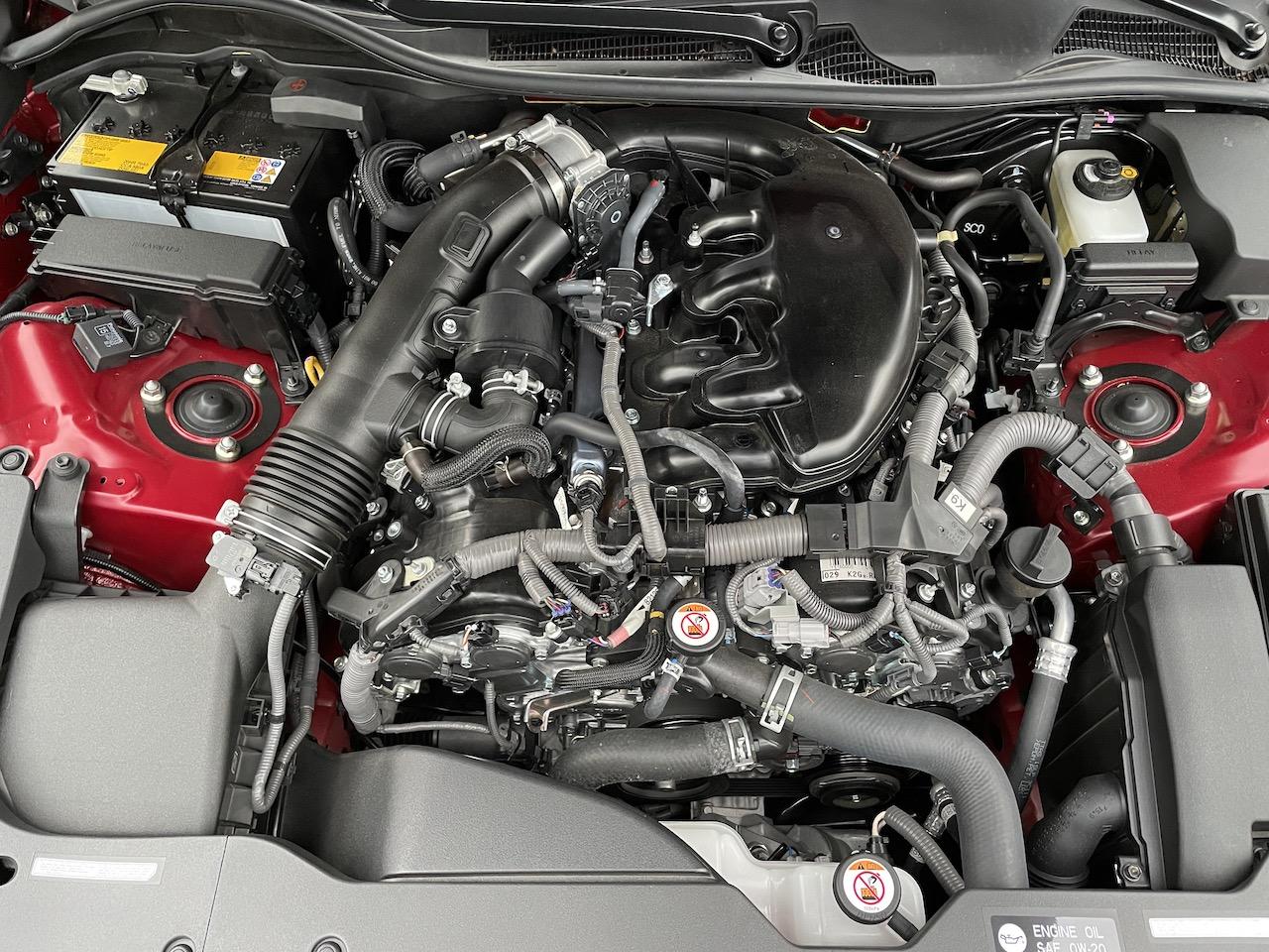 2020 Lexus GS350 AWD engine