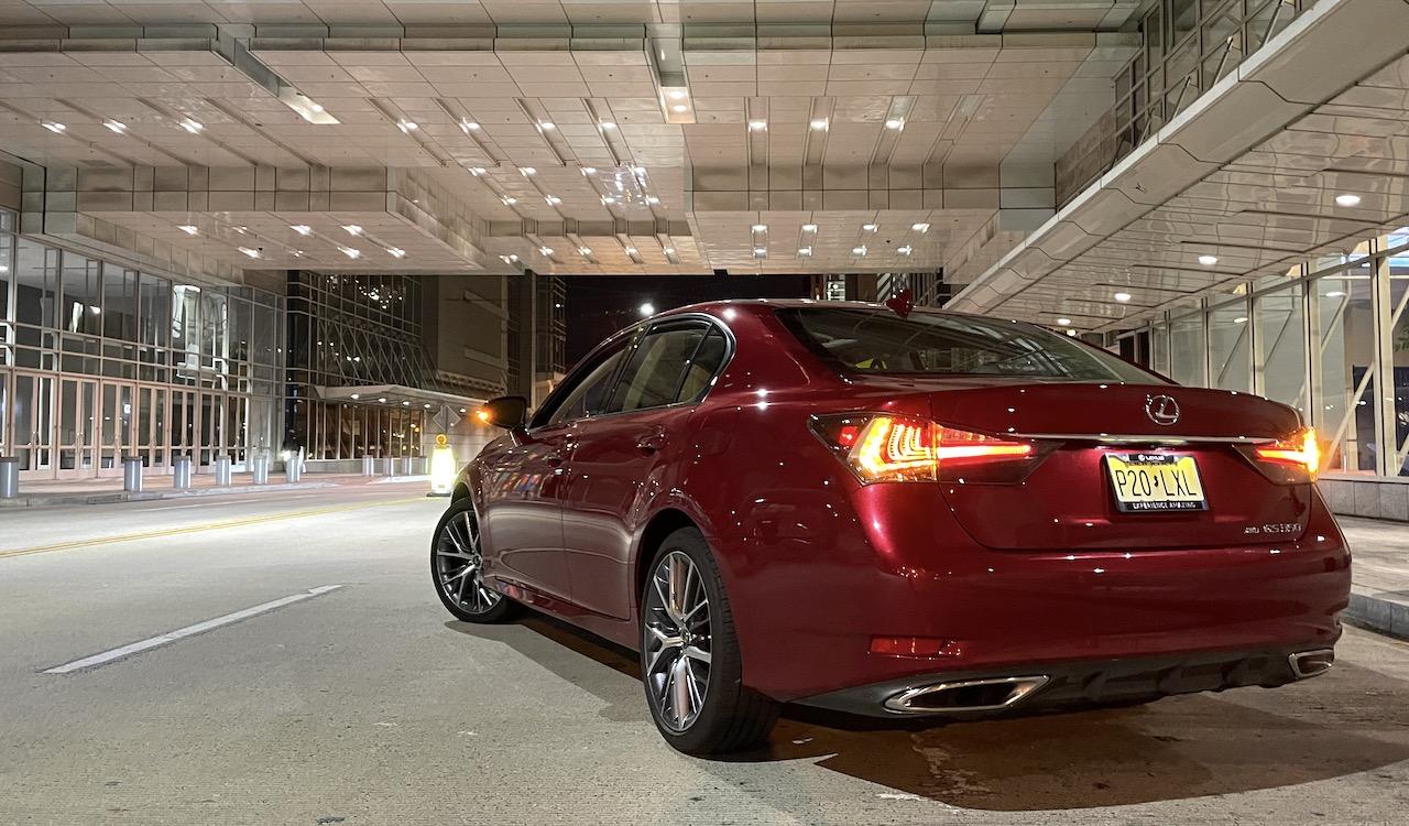 2020 Lexus GS350 AWD rear