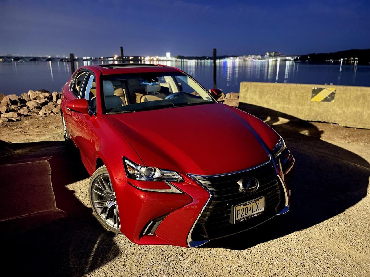 2020 Lexus GS350 red