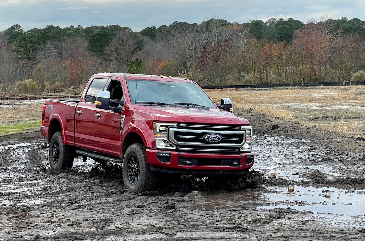 Ford F-250 7.3 Tremor off-road