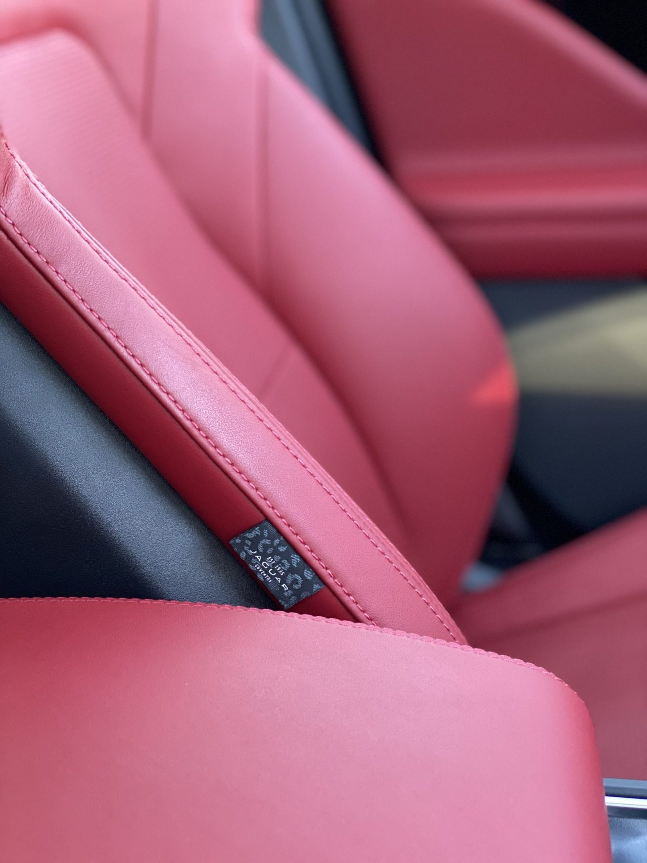 2020 Jaguar I-Pace red seats