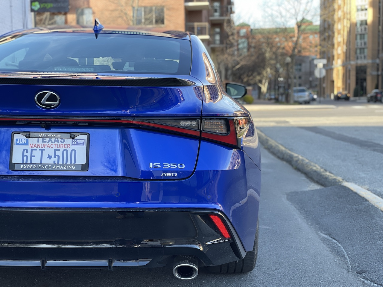 2021 Lexus IS 350 F-Sport