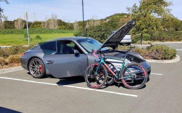 porsche road bike